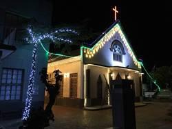 耶誕點燈 台南北門夜晚亮晶晶