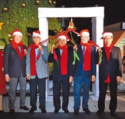 溫馨耶誕 中信敲響希望平安鐘