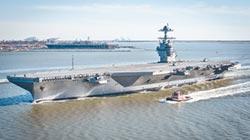 陸造海上保障平台 超美福特航母