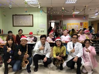 健康帶動跳 部立基隆醫院辦耶誕感謝祭