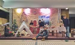 技優國手打造聖誕校園 台科大耶誕氣氛濃