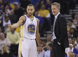 NBA》堅持柯瑞缺陣 科爾:讓他打是不負責任