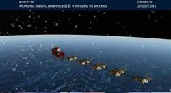 有趣的誤會:北美防空部追蹤聖誕老人