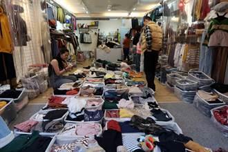 南部五分埔 高市最大成衣批發街在這裡