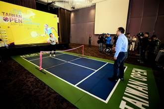 全台首創移動式迷你網球場  WTA台灣公開賽等你來體驗