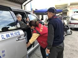 南市社會局攜手民間募得7輛日照專車