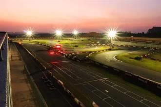 衝破終點線迎新年好刺激!賽車場推跨年夜跑