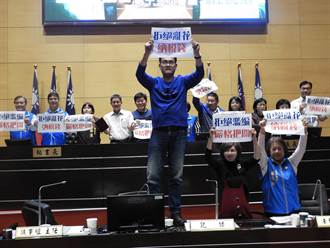台中市107年度預算審查府會雙方無共識 國、民兩黨互批