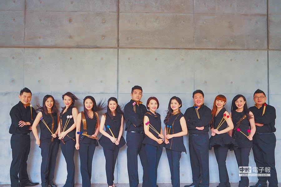身為台灣品牌團隊之一,朱宗慶打擊樂團累積新作致力推展打擊樂。(朱宗慶打擊樂團提供)