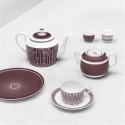 新年添新品 愛馬仕推H Deco Rouge系列餐瓷