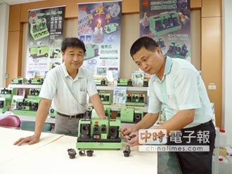 台利村明年三工具機展 秀高效率鑽頭研磨機