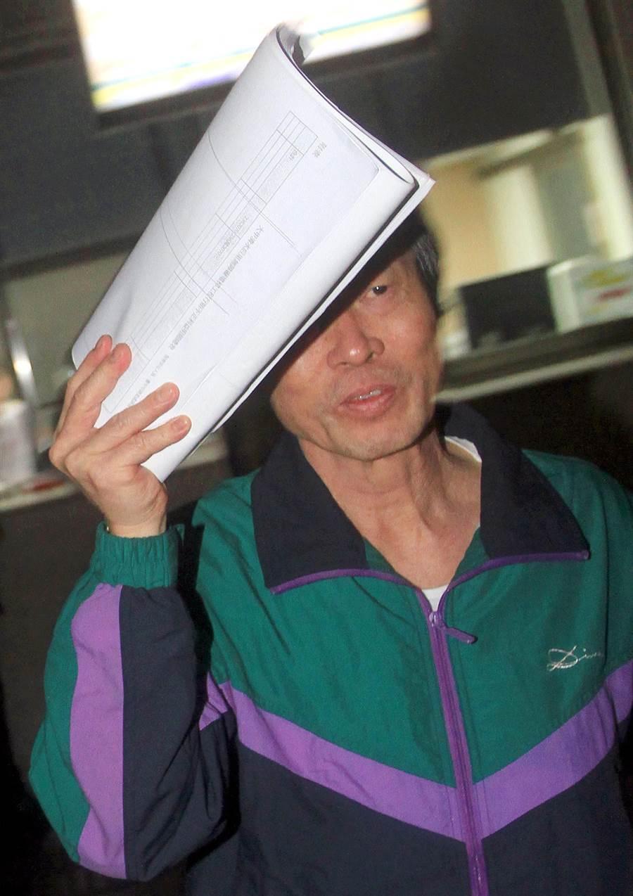 前台鐵副局長鍾朝雄。(報系資料照 范揚光攝)