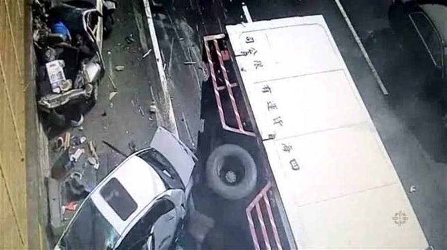台灣交通事故死傷數字驚人,每年有40萬人死傷。(中時資料照)
