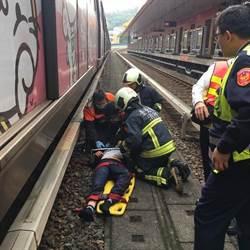捷運關渡站女性旅客跳軌 警消從車廂縫隙救出