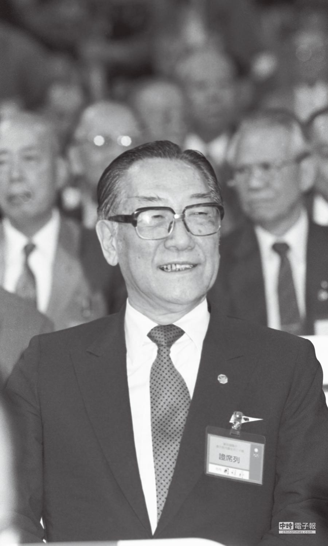 1988年7月7日,蔣緯國出席中國國民黨第十三次全國黨代表大會開幕典禮。(本報系資料照片)