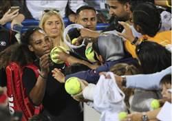 天后小威產後復出首戰 敗給20歲的法網冠軍