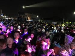 彰化數千民眾秀水吃馬舌餅看表演、逛市集、摸汽車大獎等待倒數