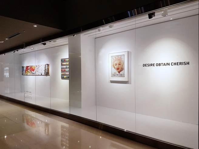 中友時尚藝廊與致力於推廣當代藝術的Bluerider ART一同攜手於跨年鉅獻展出當代藝術聯名展。(馮惠宜攝)
