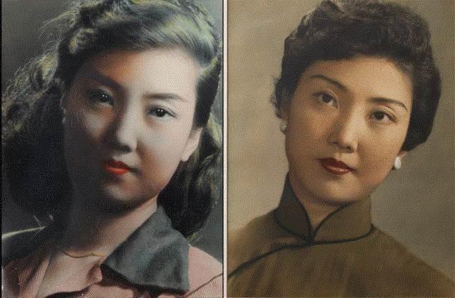 作者母親22歲(左)時與35歲時的照片。(圖/王冠璽提供)