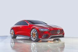Mercedes-AMG GT Concept 預覽未來跑車雛型