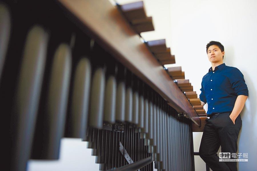 打擊樂家林威震目前在上海交響樂團擔任樂手。(林威震提供)