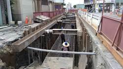提升區域防洪能力 大里區泉水巷雨水下水道完工