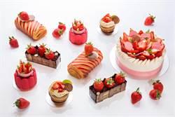 超逼真「草莓盆栽」捨得吃嗎?草莓甜點季特別款亮相