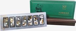 中國熊貓金幣35週年紀念銀條 限量八折優惠