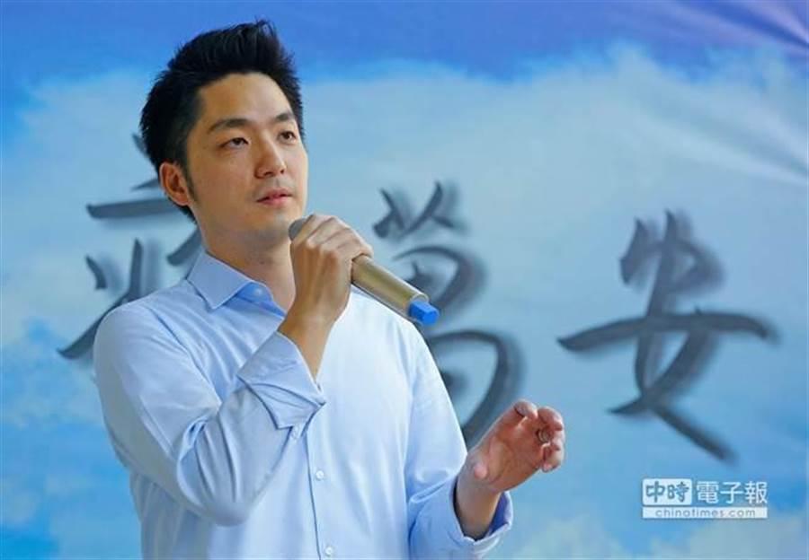 台北市長選舉,民進黨秘書長洪耀福指鎖定藍委蔣萬安成為目標。 (資料照片)
