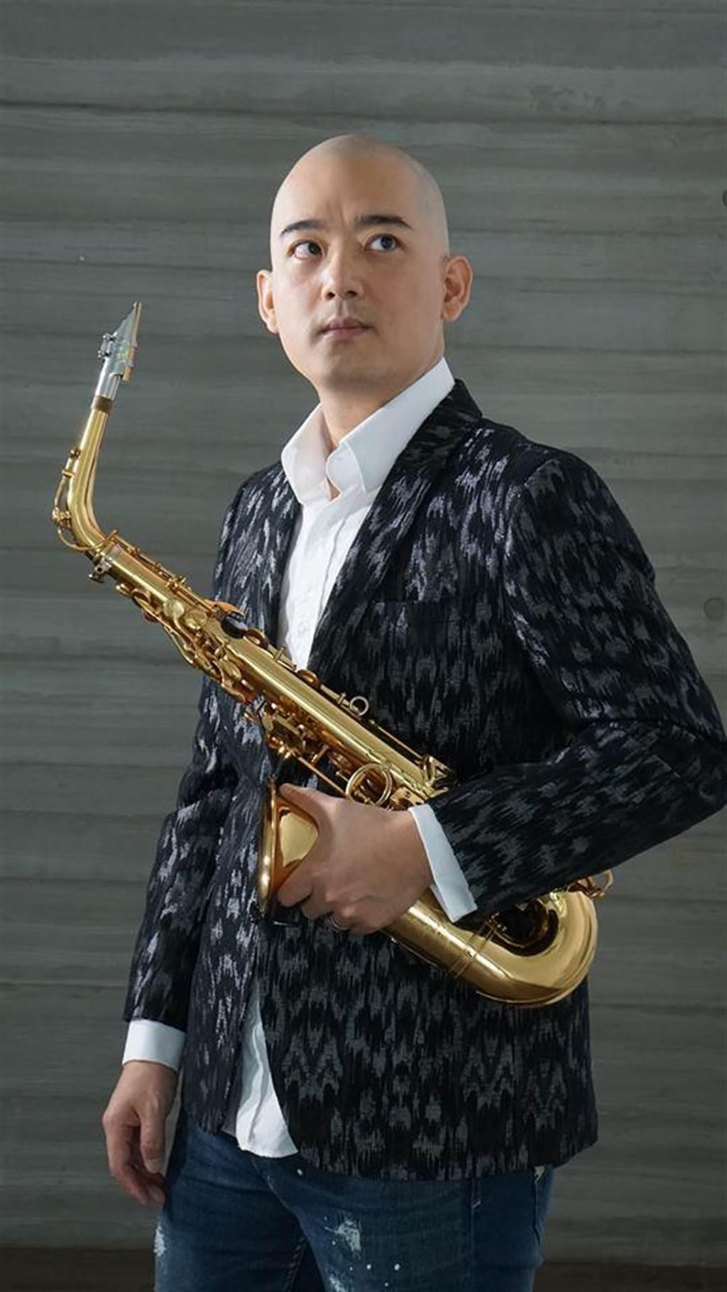 江川徹新專輯融合薩克斯風迷人魅力與台灣流行樂元素。