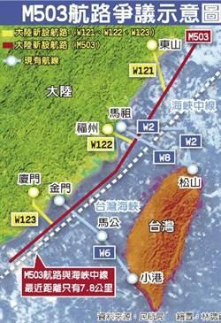 孫揚明》M503航線 美國自顧不暇