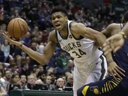 NBA》全明星票選首輪出爐 字母哥爆冷壓詹皇