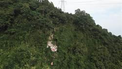 廢棄物亂丟1年 花蓮吉安驚現10噸垃圾瀑布