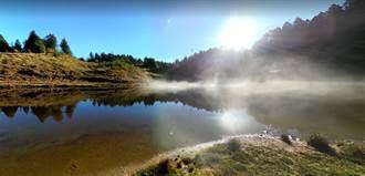 《財訊雙周刊》煙雨縹緲.湖光山色.加羅湖