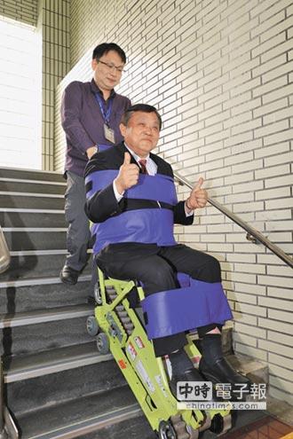 租借爬梯機 60萬戶共用25台