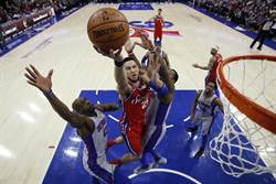 NBA》七六人血洗活塞36分 創37年來新高