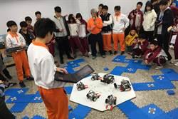 苗栗君毅中學機器人教育 精彩表演賽展現成果