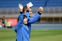 木蘭聯賽冠軍隊教練 感謝運彩支持台灣女足