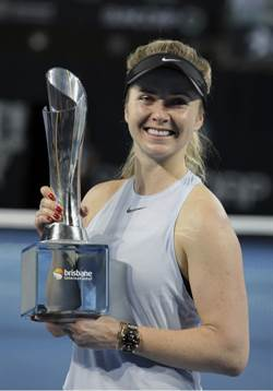 網球》來台後暴衝上世界第3 烏克蘭美女月底訪台