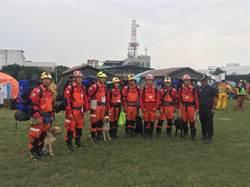 中市消防局招募義消領犬員 提升搜救率
