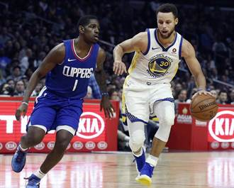 NBA》柯瑞32分 勇士溶解金塊摘5連勝