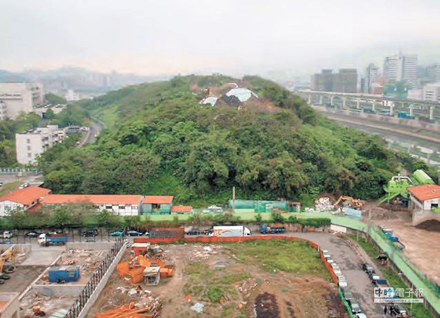 內湖垃圾山歷時多年整治,繼大安森林公園後,成為台北市的第2個肺。(台北市環保局提供)