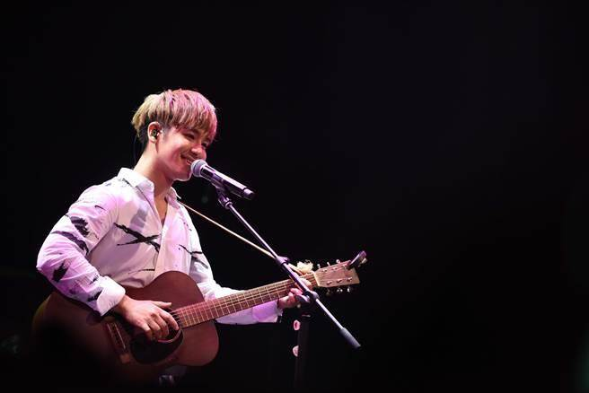 鼓鼓6日在上海舉辦「MAKE IT REAL可以唷」演唱會。(相信音樂提供)