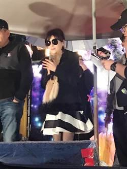 蔡秋鳳得重感冒1周扁桃腺發炎 無奈「唱不太出來, 想哭」