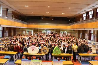 六和高中舉辦「包高中—考試祈福活動」