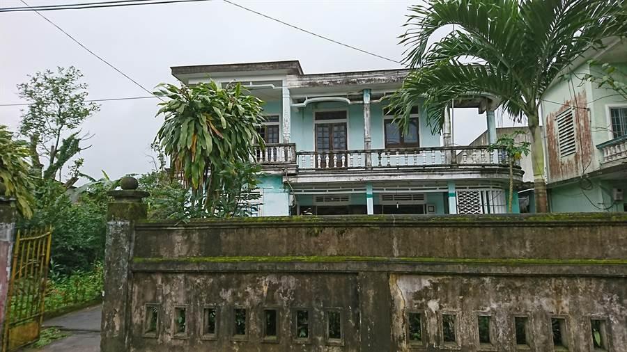 阿福目前的家,也是由至善基金會協助興建。(廖德修攝)