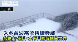 最冷是這天!寒流發威 高山雪景一次看夠