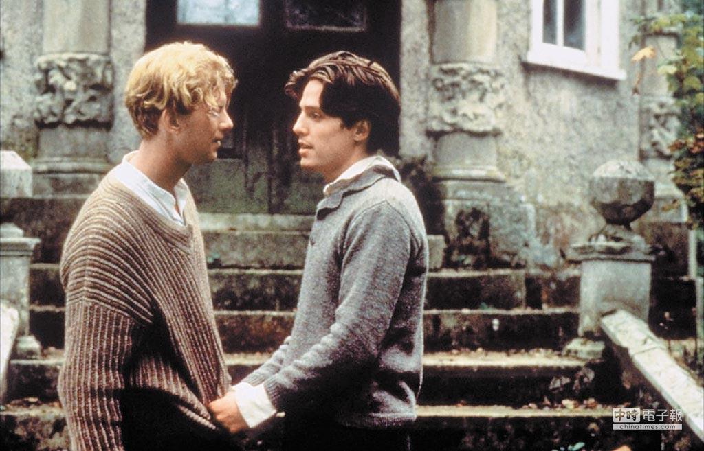 《墨利斯的情人》30年前即深入探觸同志情節。(摘自網路)