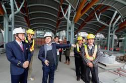 台東火車站圍籬下個月拆除 4月完工