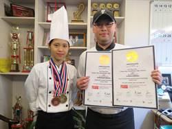 這是我的興趣!莊敬高職邱芸慈泰國廚藝挑戰賽摘金